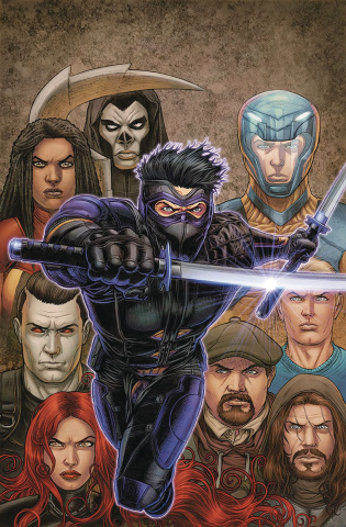 Ninjak vs. The Valiant Universe #3 (50 Copy Ryp Cover)