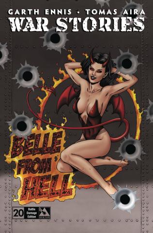 War Stories #20 (Battle Damage Retailer Cover)