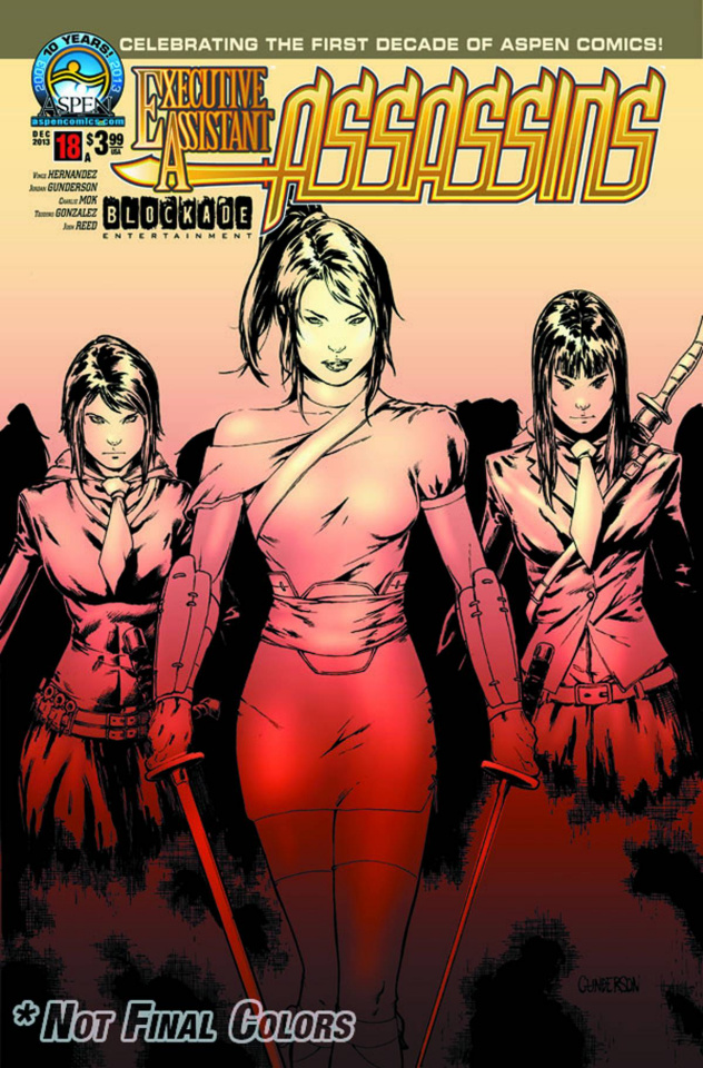 Executive Assistant: Assassins #18 (Gunderson Cover)