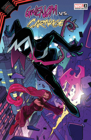 King In Black: Gwenom vs. Carnage #3 (Lafuente Cover)