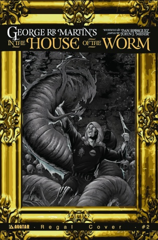 In the House of the Worm #3 (Regal Cover)