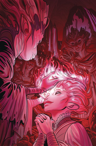 Beneath the Dark Crystal #3 (Dewey Cover)