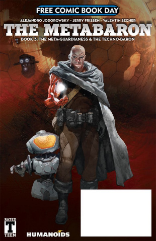 The Metabaron: The Meta-Guardianess & The Techno-Baron FCBD 2018 Special