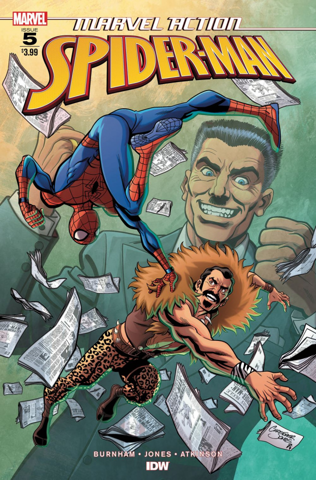 Marvel Action: Spider-Man #5 (Jones Cover)