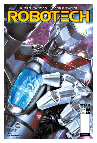 Robotech #10 (Laren Cover)