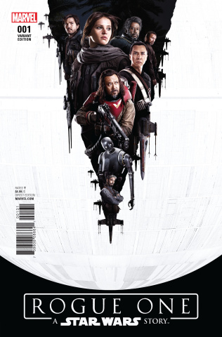 Star Wars: Rogue One #1 (Movie Cover)