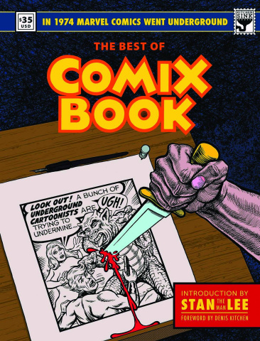 The Best of Comix Book: When Marvel Went Underground