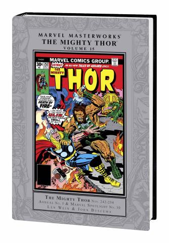 The Mighty Thor Vol. 15 (Marvel Masterworks)