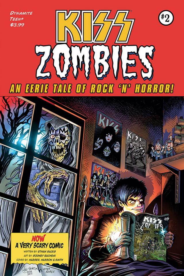 KISS: Zombies #2 (7 Copy Haeser Cover)