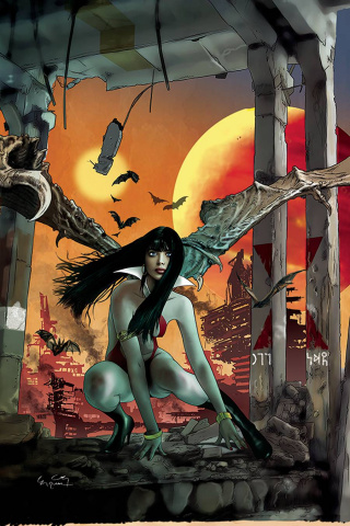 Vampirella #18 (30 Copy Gunduz Virgin Cover)
