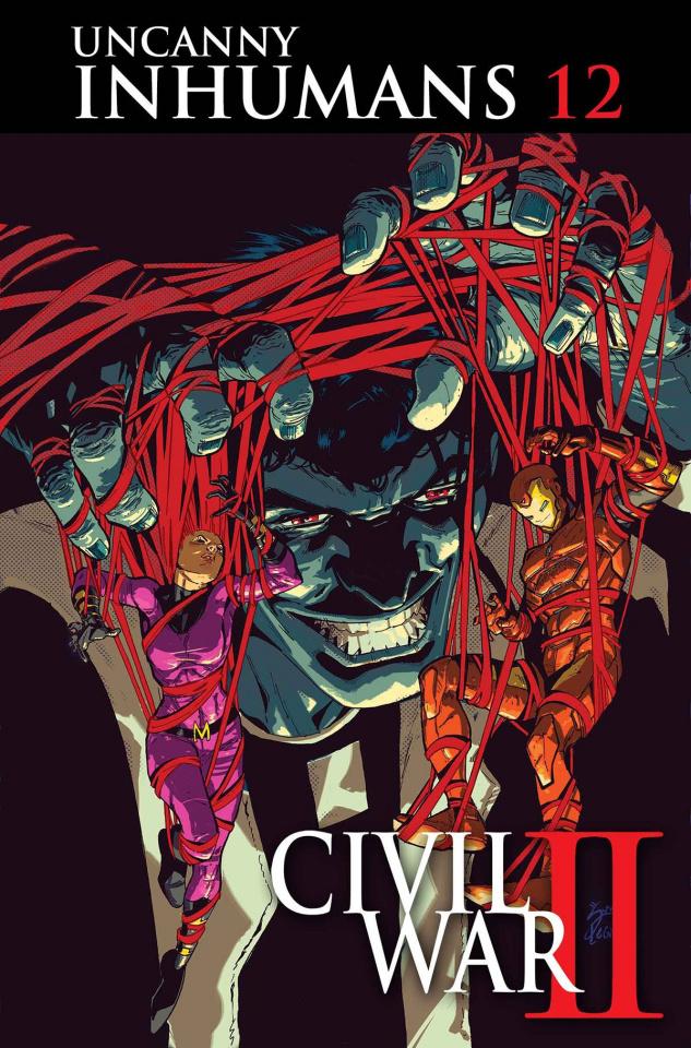 The Uncanny Inhumans #12