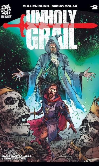 Unholy Grail #2 (Colak Cover)