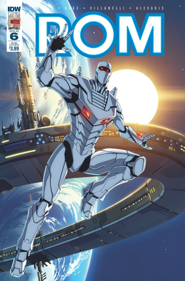 ROM #6 (Subscription Cover B)