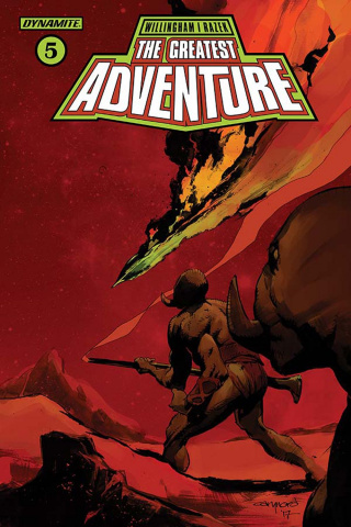 The Greatest Adventure #5 (Nord Cover)