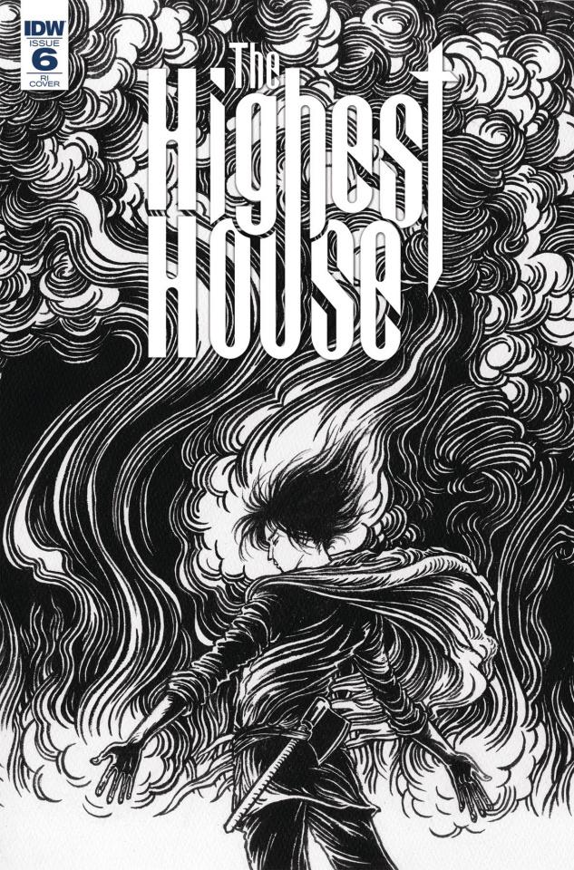 The Highest House #6 (10 Copy Shimizu Cover)