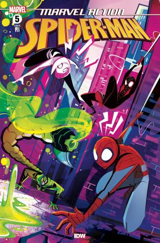 Marvel Action: Spider-Man #5 (10 Copy Baldari Cover)
