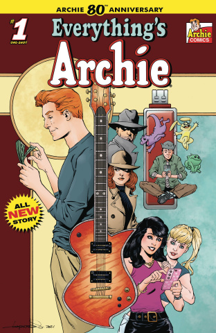 Archie 80th Anniversary: Everything Archie #1 (Aaron Lopresti Cover)