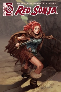 Red Sonja #1 (AoD Collectibles Witter Cover)