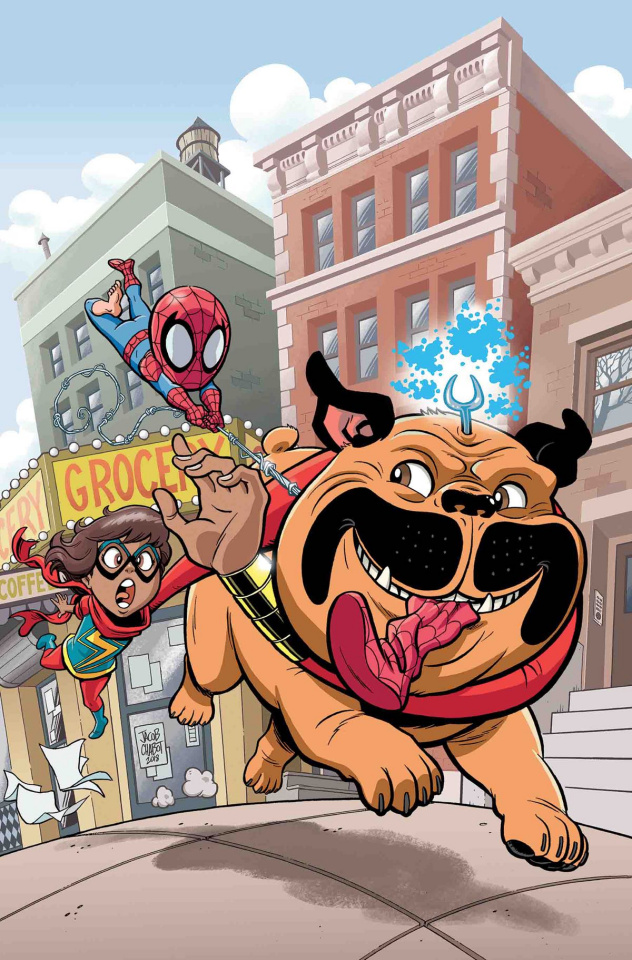 Marvel Superheroes: The Adventures of Ms. Marvel's Teleporting Dog #1