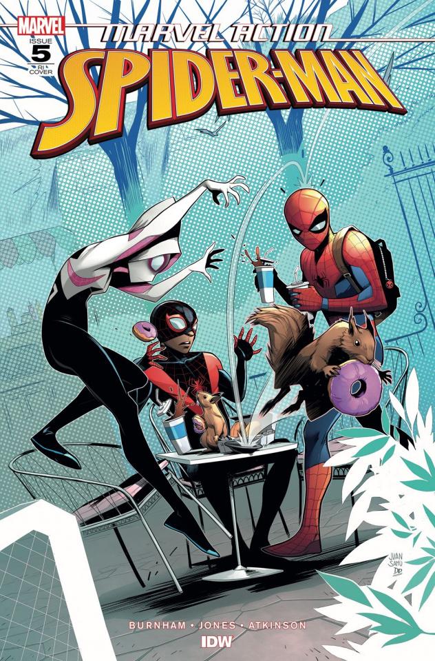 Marvel Action: Spider-Man #5 (10 Copy Samu Cover)