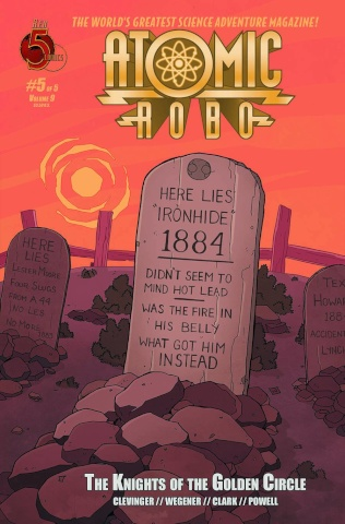 Atomic Robo: The Knights of the Golden Circle #5