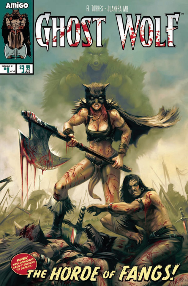 Ghost Wolf: The Horde of Fangs #1