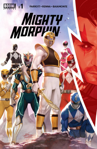 Mighty Morphin' #1 (Lee Cover)