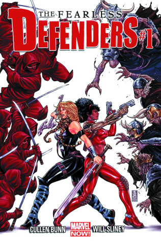 The Fearless Defenders #1