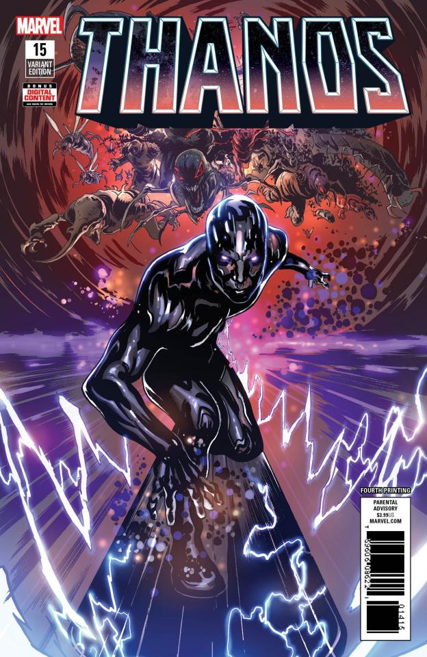 Thanos #15 (Shaw 4th Printing)