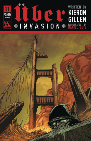 Über: Invasion #11 (Blitzkreig Cover)
