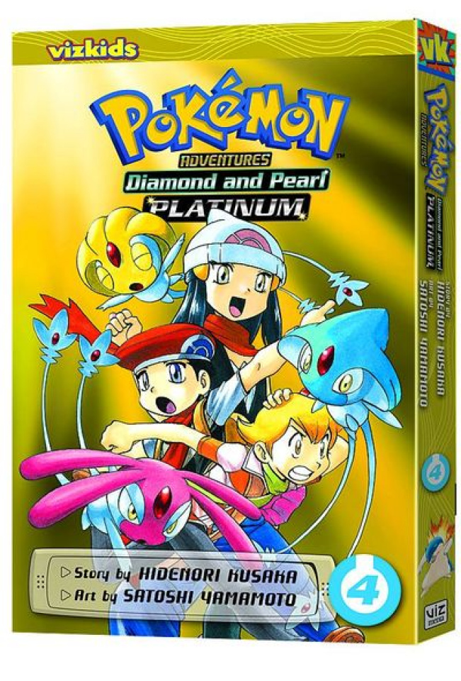 Pokemon Adventures: Platinum and Pearl Vol. 4