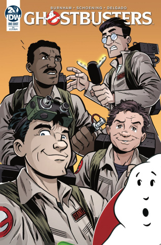 Ghostbusters 35th Anniversary Ghostbusters (10 Copy Marques Cover)