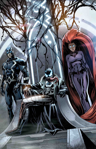 Inhumans: Once & Future Kings #2 (Venomized Cover)