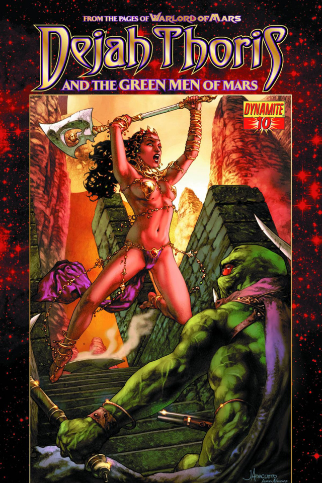 Dejah Thoris & The Green Men of Mars #10