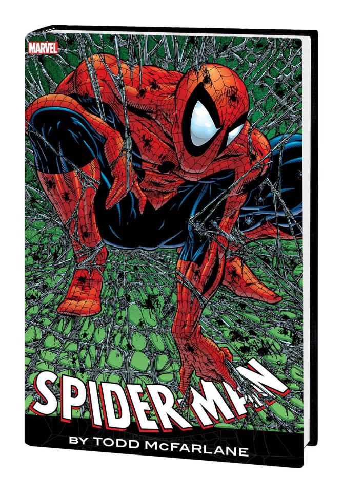 Spider-Man by Todd McFarlane (Omnibus Red/Blue Costume Cover)
