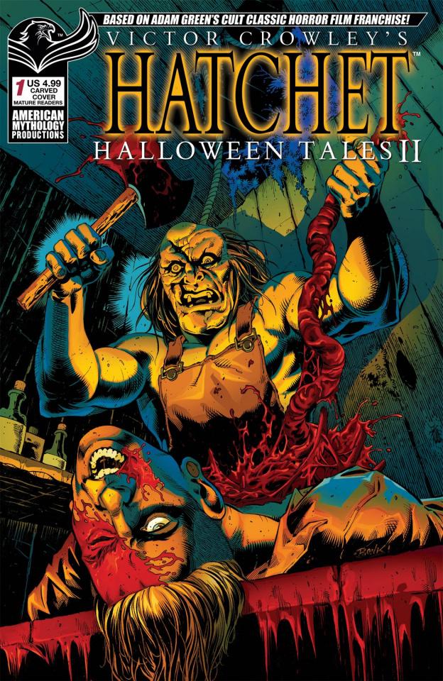 Hatchet: Halloween Tales II (Carved Bonk Cover)