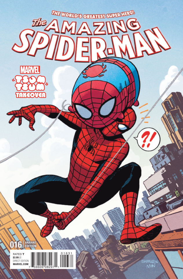 The Amazing Spider-Man #16 (Samnee Tsum Tsum Cover)