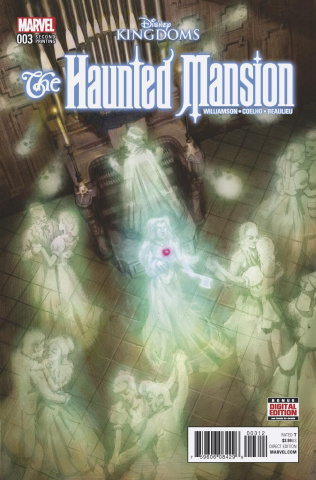 The Haunted Mansion #3 (Gist 2nd Printing)