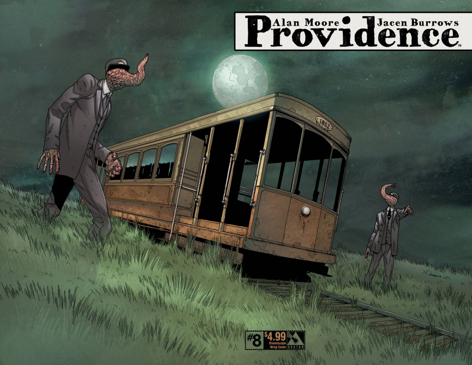 Providence #8 (Dreamscape Wrap Cover)