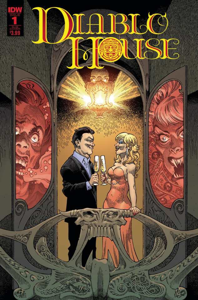 Diablo House #1 (Rodriguez Cover)