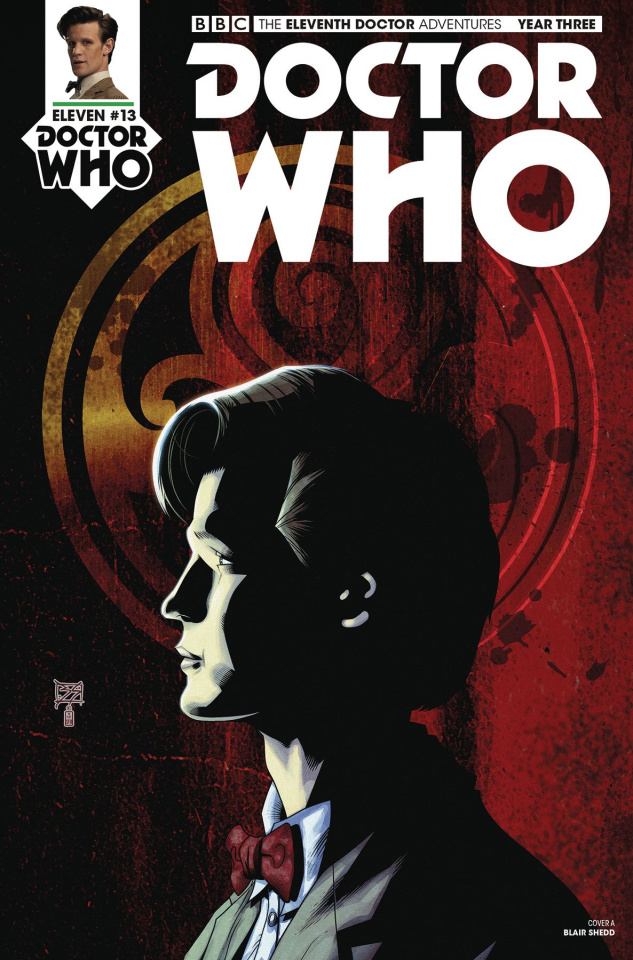 Doctor Who: New Adventures with the Eleventh Doctor, Year Three #13 (Shedd Cover)