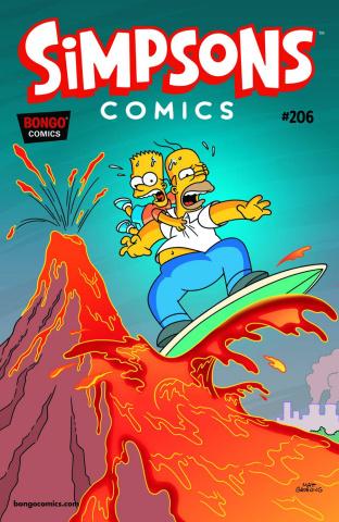 Simpsons Comics #206
