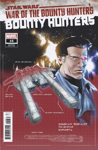 Star Wars: Bounty Hunters #16 (Villanelli Blueprint Cover)