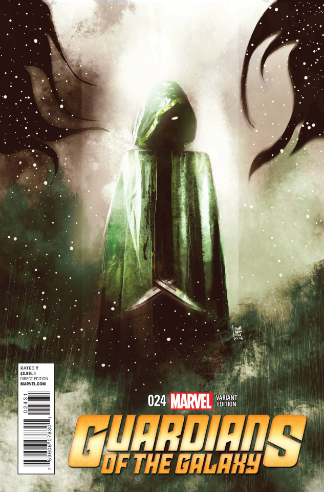 Guardians of the Galaxy #24 (Sorrentino Cosmic Character Cover)