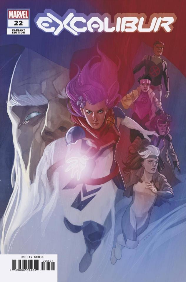 Excalibur #22 (Noto Cover)
