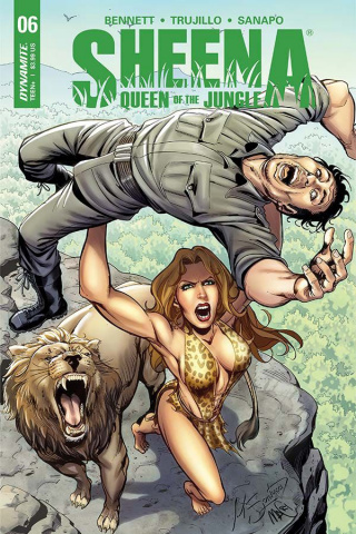 Sheena #6 (Santucci Cover)