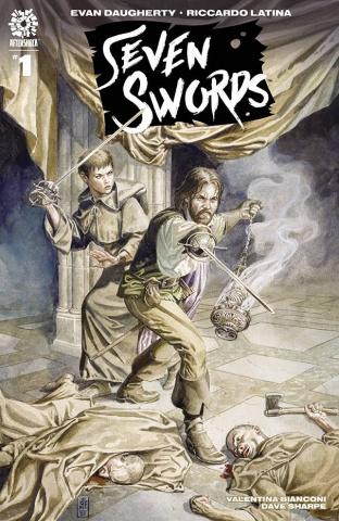 Seven Swords #1 (15 Copy Jones Cover)