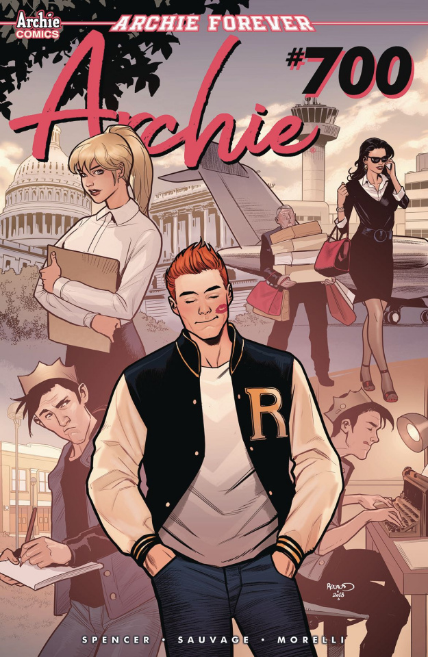 Archie #700 (Renaud Cover)