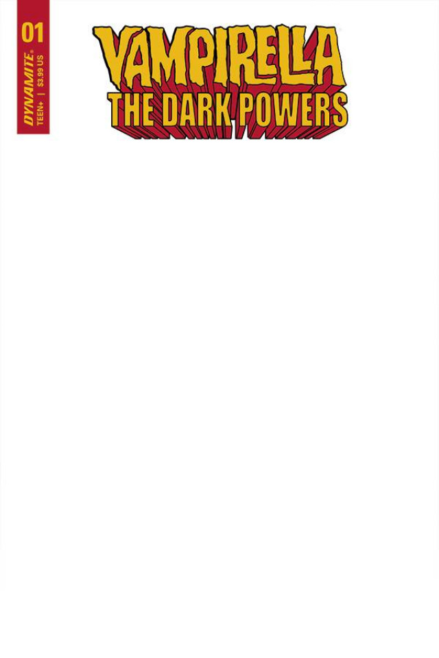 Vampirella: The Dark Powers #1 (Blank Authentix Cover)
