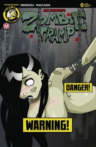 Zombie Tramp #43 (Mendoza Risque Cover)
